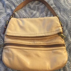 FOSSIL Genuine Vintage Leather Handbag